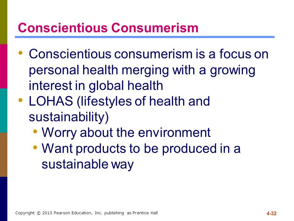 Conscientious Consumerism