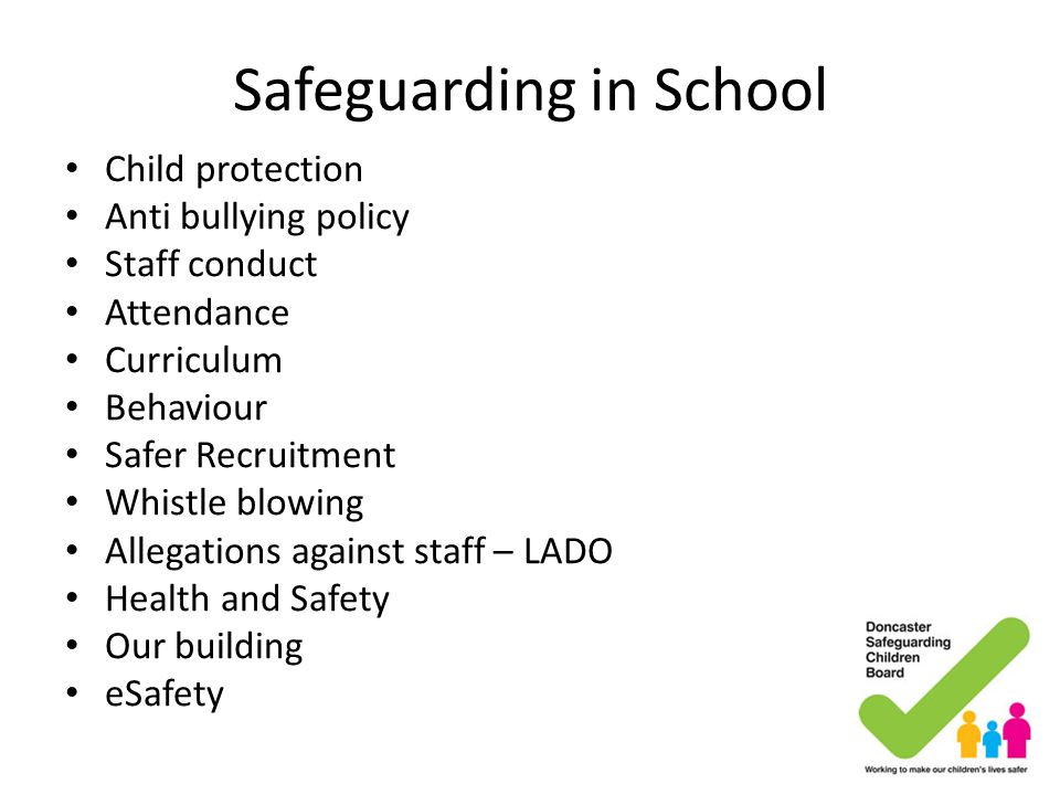 Safeguarding in School