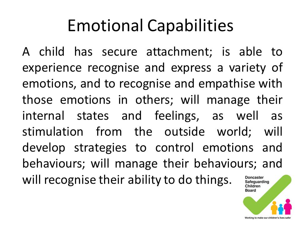 Emotional Capabilities