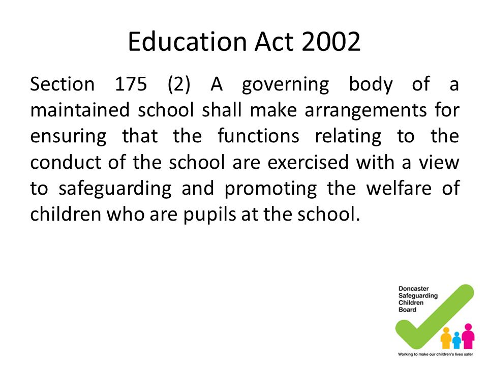 Education Act 2002