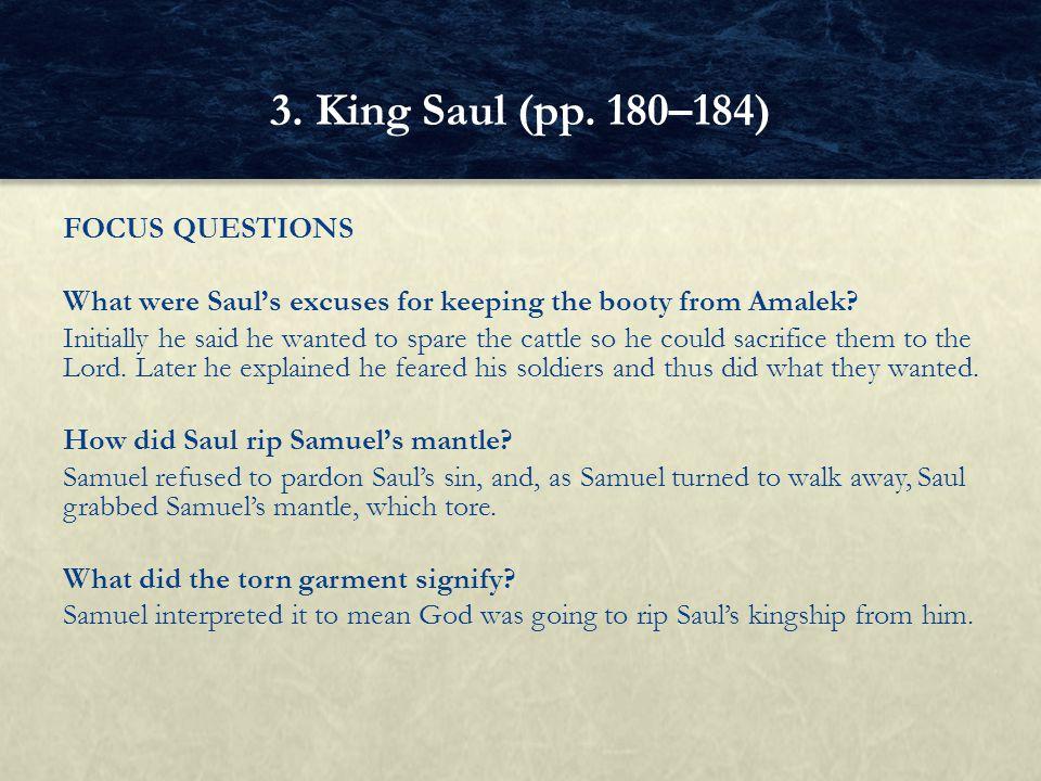 3. King Saul (pp. 180–184)