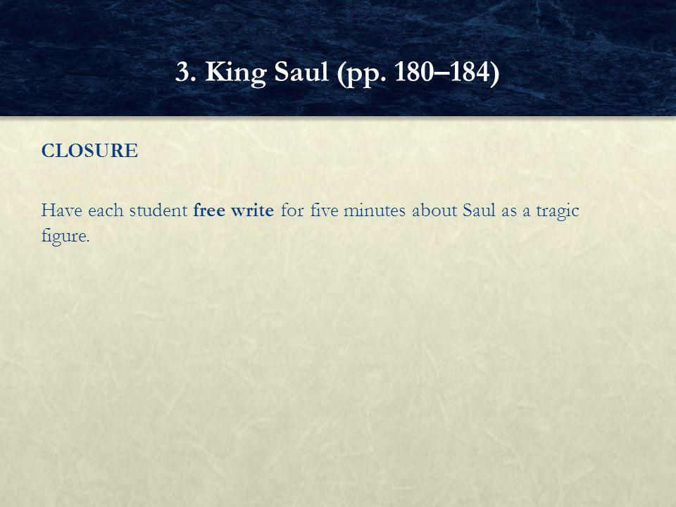 3. King Saul (pp.