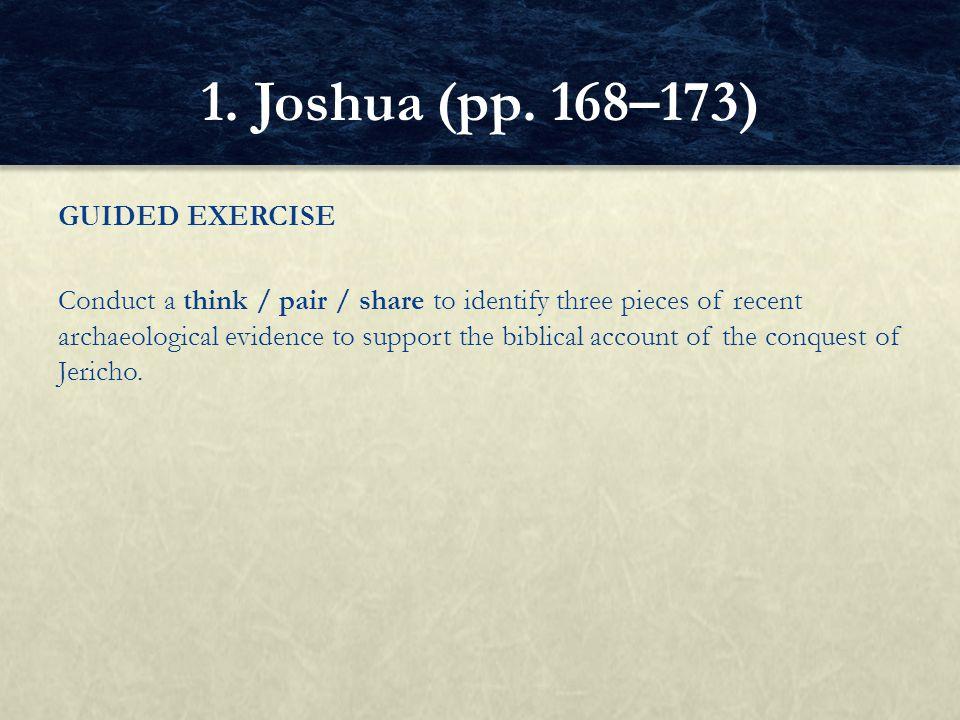 1. Joshua (pp. 168–173)