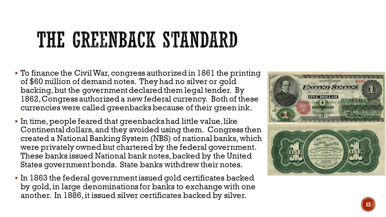 The Greenback Standard