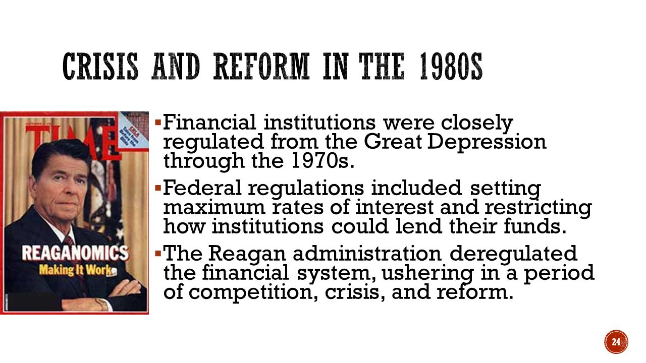 Crisis and Reform in the 1980s