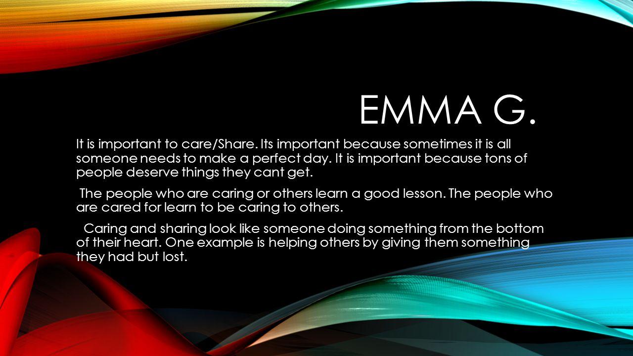 Emma g.
