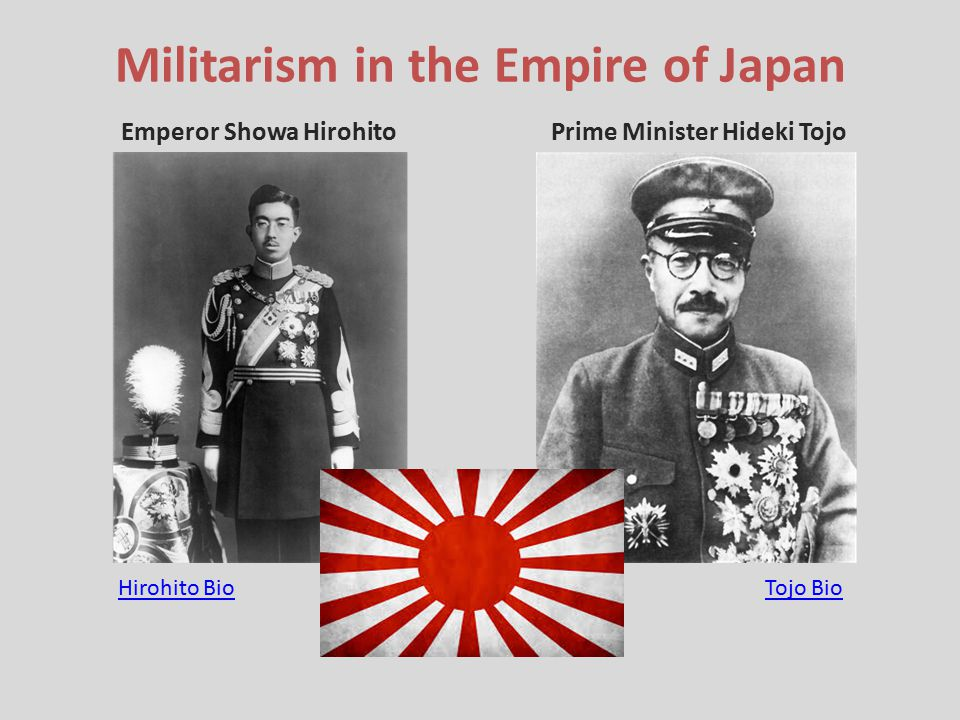 Militarism in the Empire of Japan