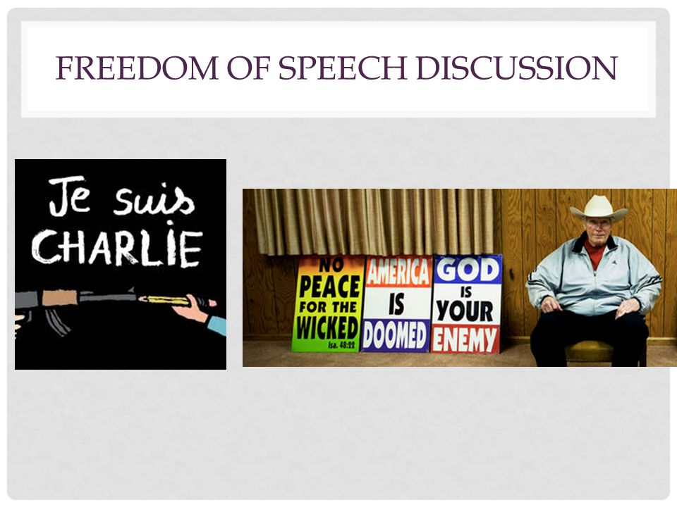 Freedom of Speech Discussion