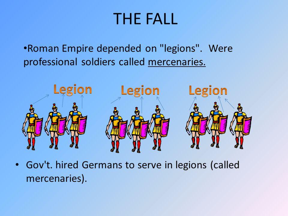 THE FALL Legion Legion Legion