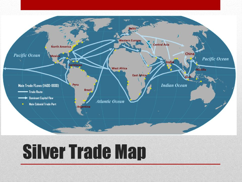 Silver Trade Map