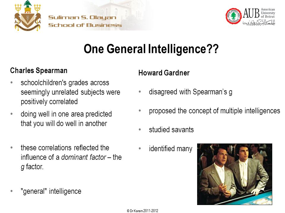 One General Intelligence