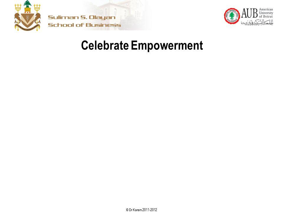 Celebrate Empowerment
