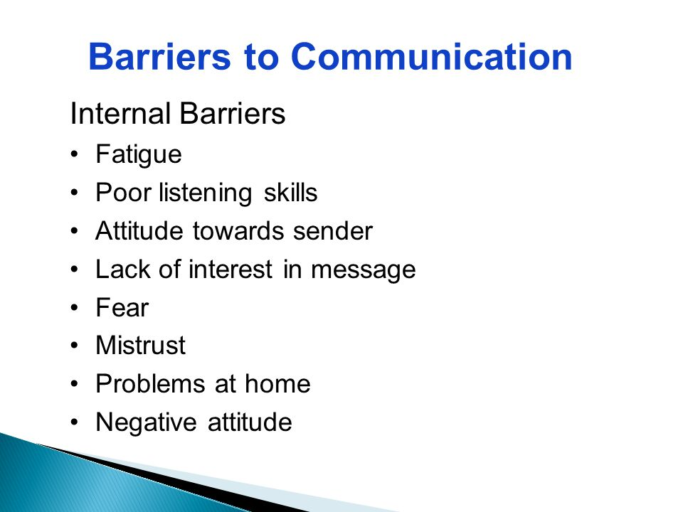 language barrier to communication