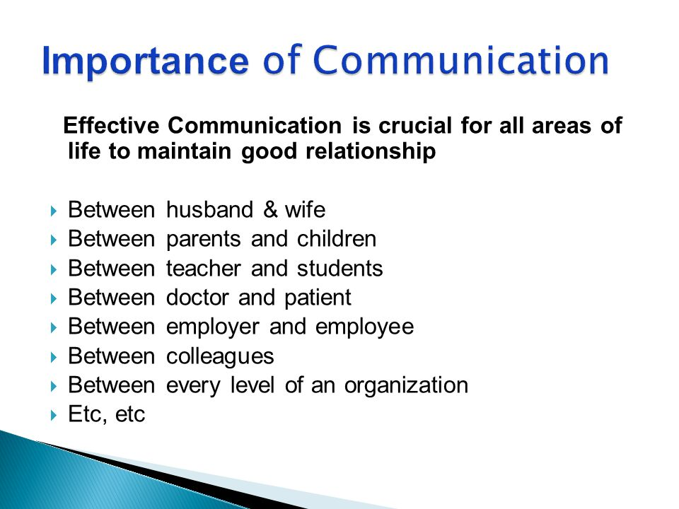 importance of effective communication Effective communication is significant for managers in the organizations so as to  perform the basic functions of management, ie, planning, organizing, leading.