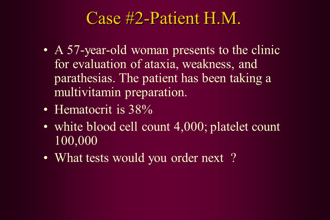 Case #2-Patient H.M.