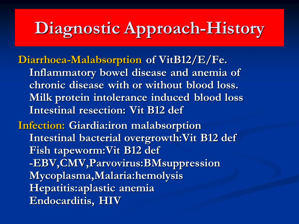 Diagnostic Approach-History