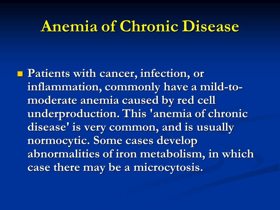 Anemia of Chronic Disease