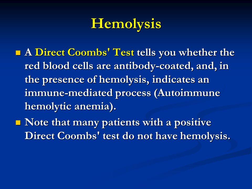 Hemolysis