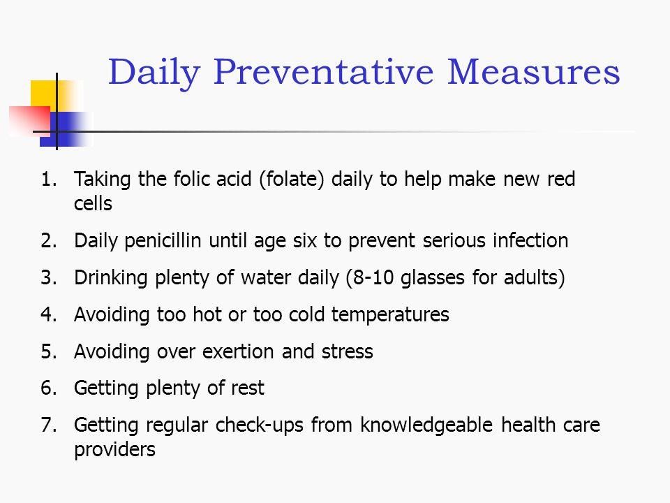 Daily Preventative Measures