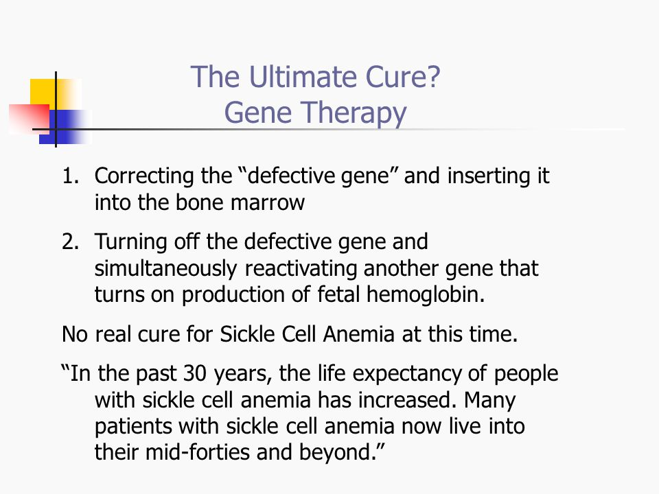 The Ultimate Cure Gene Therapy