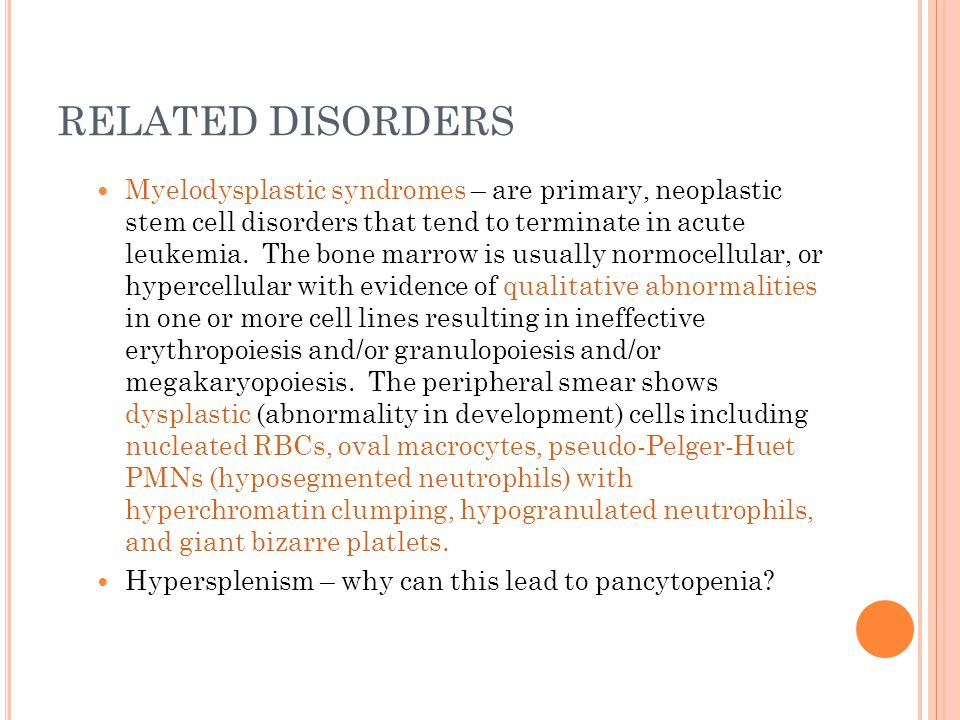RELATED DISORDERS
