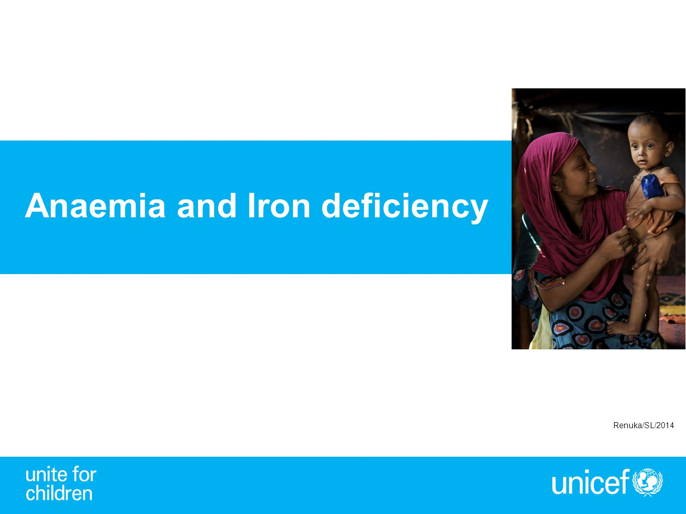 Anaemia and Iron deficiency