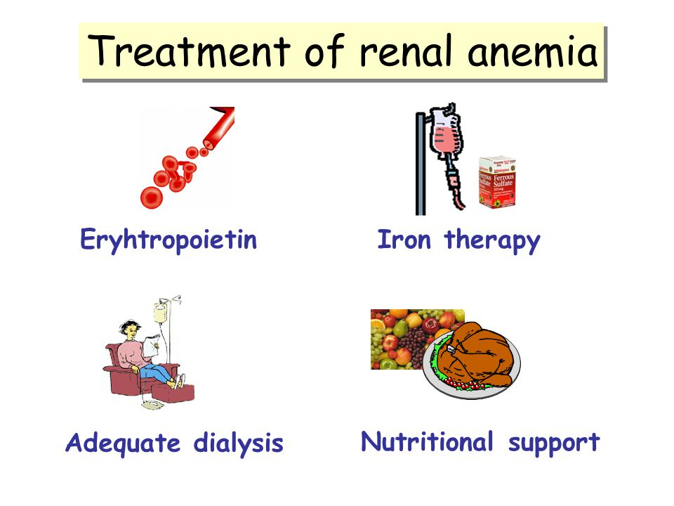 Treatment of renal anemia