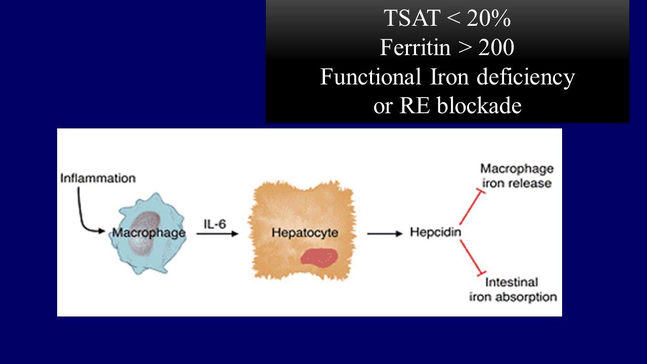 Functional Iron deficiency