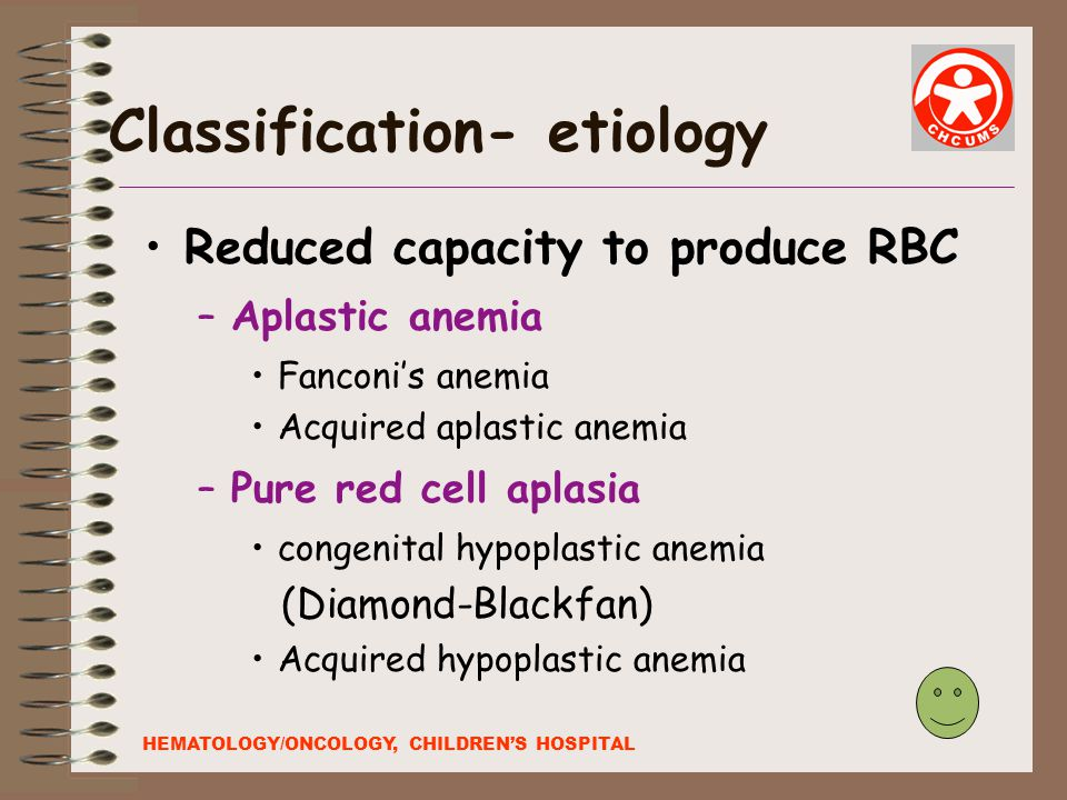 Classification- etiology