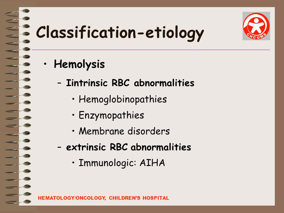 Classification-etiology