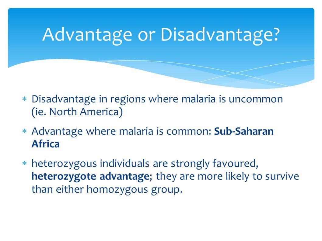 Advantage or Disadvantage