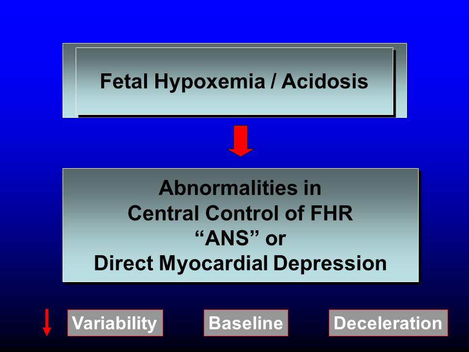 Fetal Hypoxemia / Acidosis