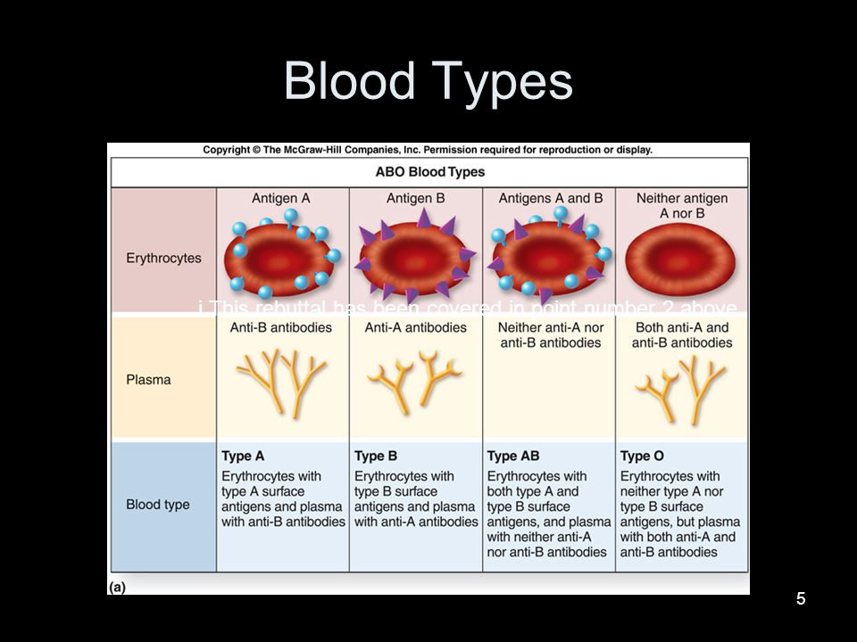 Blood Types This rebuttal has been covered in point number 2 above.