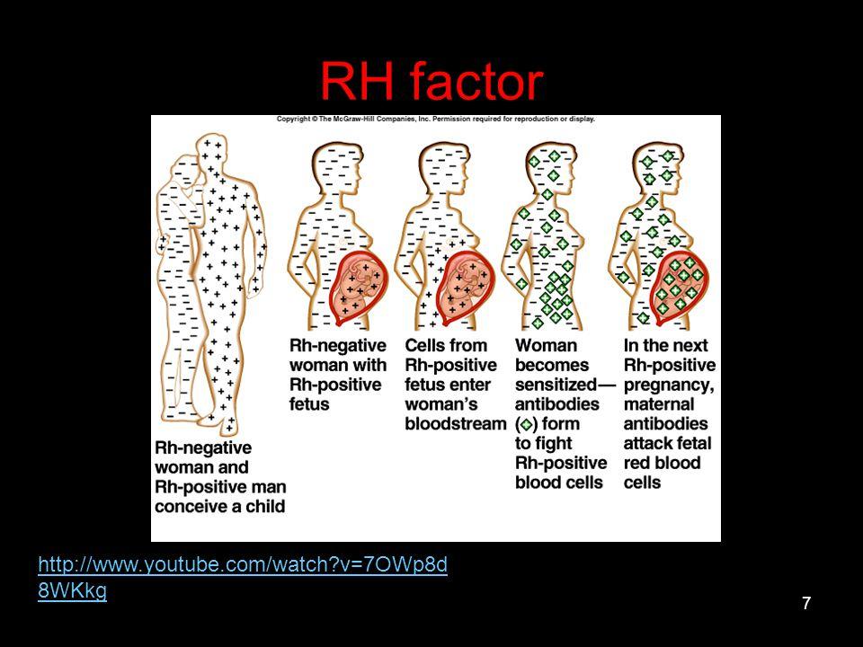 RH factor http://www.youtube.com/watch v=7OWp8d8WKkg