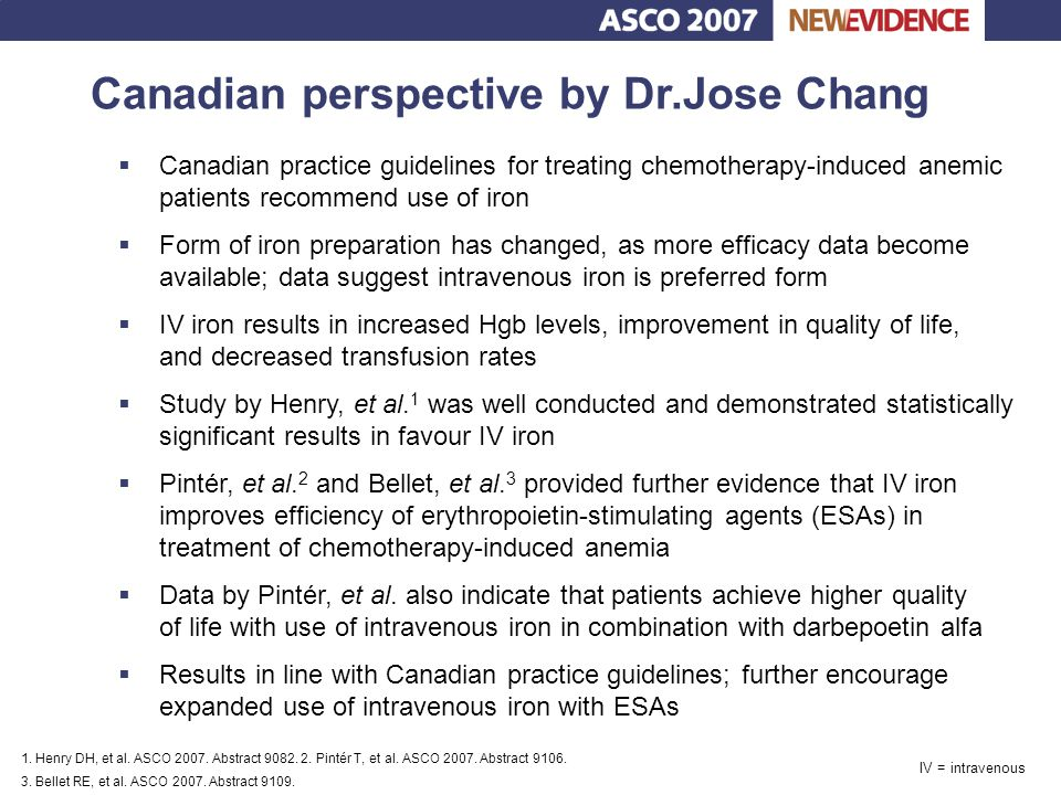 Canadian perspective by Dr.Jose Chang