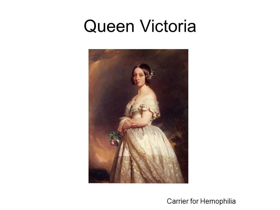 Queen Victoria Carrier for Hemophilia