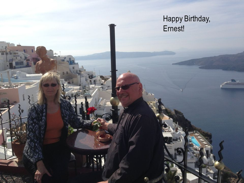 Happy Birthday, Ernest!