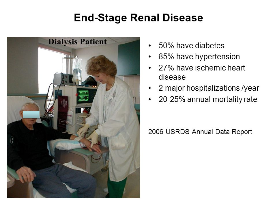End-Stage Renal Disease
