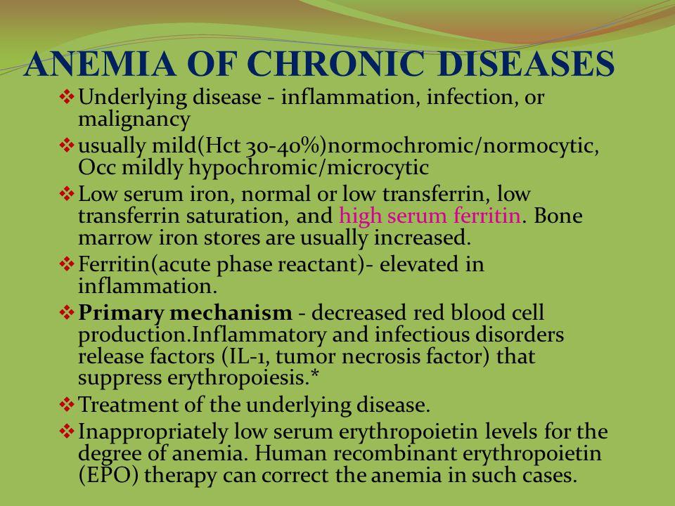 ANEMIA OF CHRONIC DISEASES