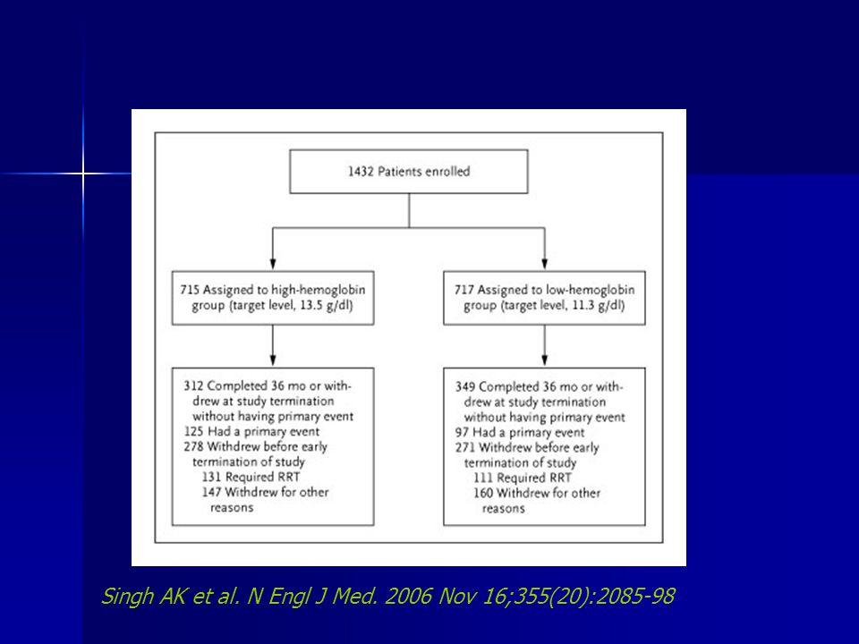 Singh AK et al. N Engl J Med. 2006 Nov 16;355(20):2085-98