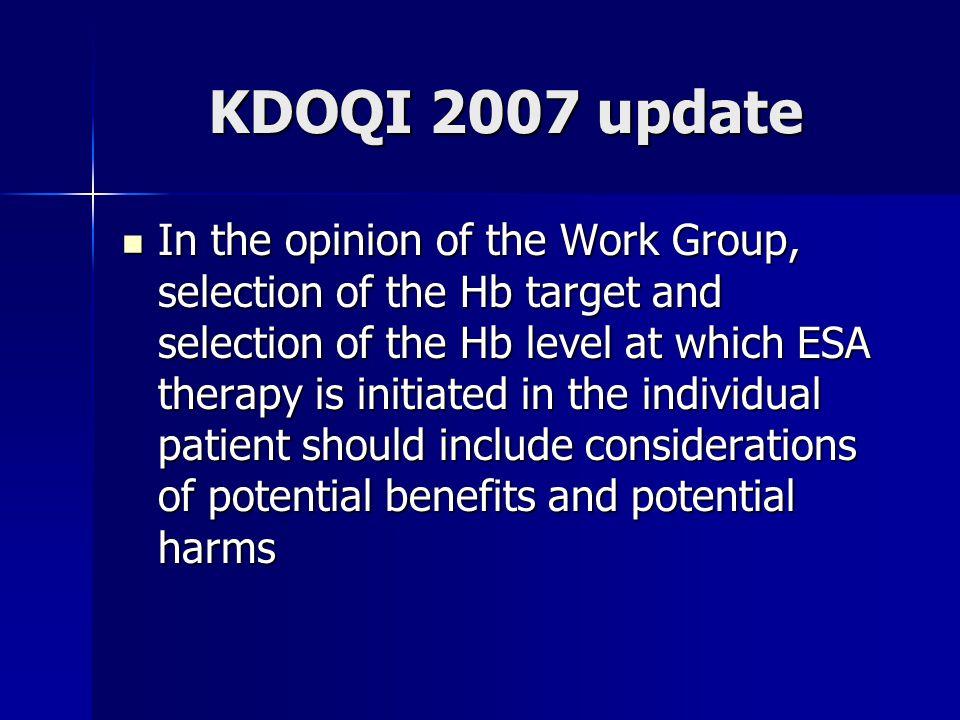 KDOQI 2007 update