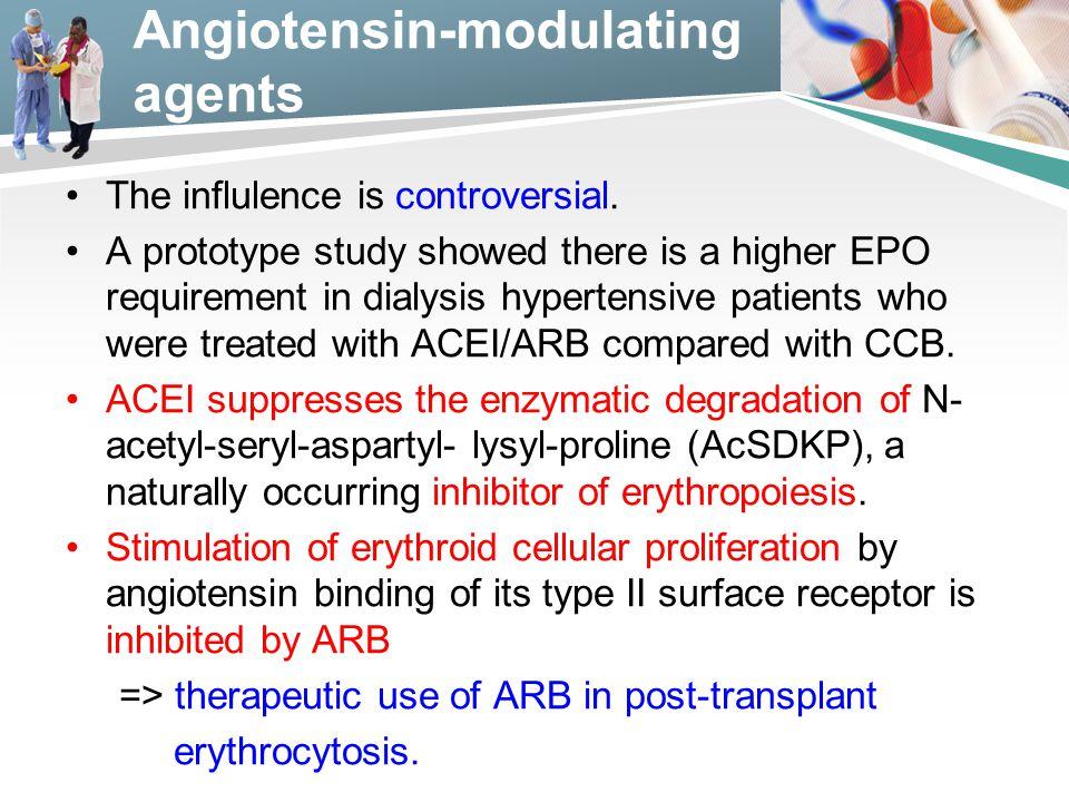 Angiotensin-modulating agents