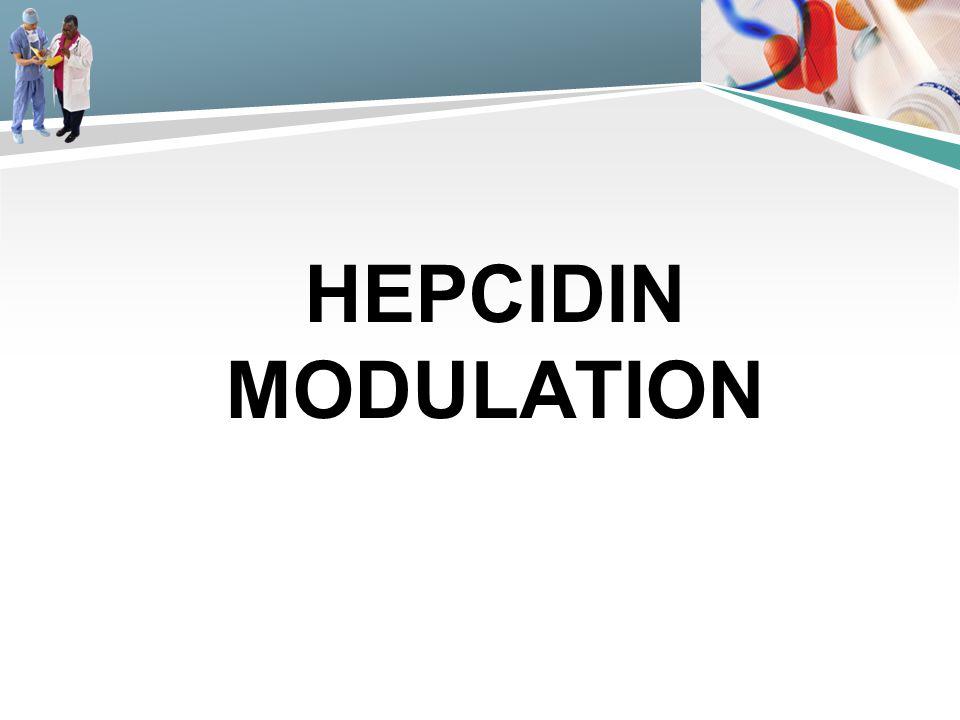 Hepcidin Modulation