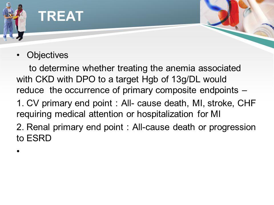 TREAT Objectives.