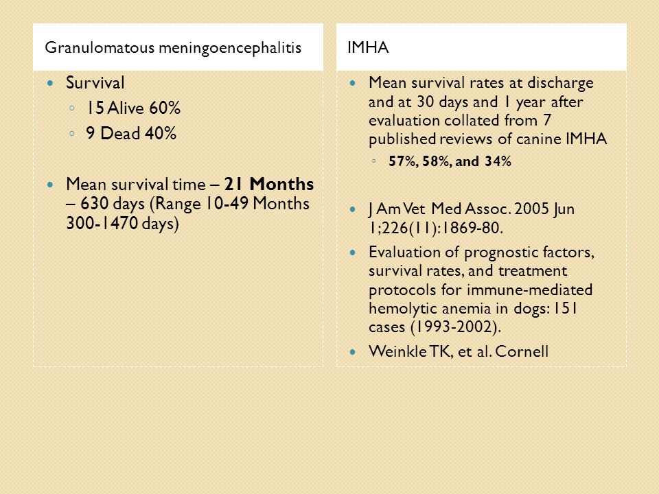 Granulomatous meningoencephalitis