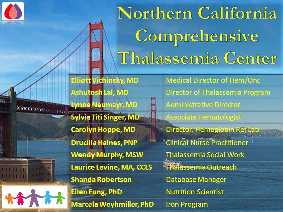 Northern California Comprehensive Thalassemia Center