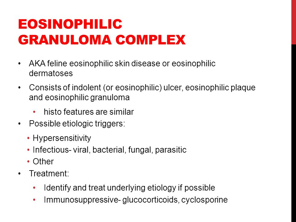 Eosinophilic granuloma complex