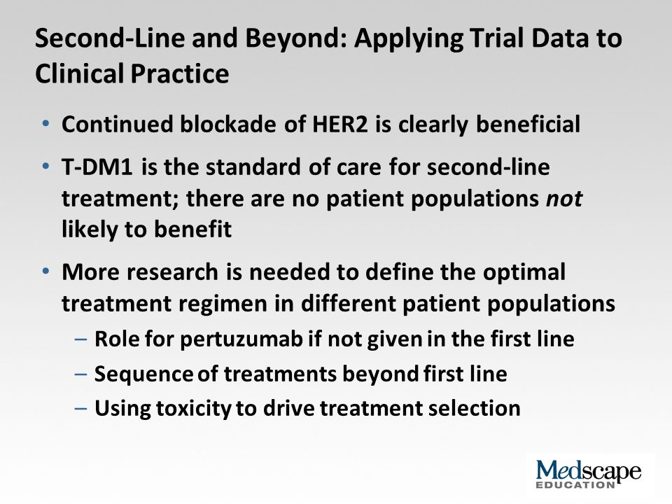 Second-Line and Beyond: Applying Trial Data to Clinical Practice