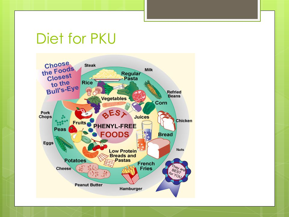 Diet for PKU