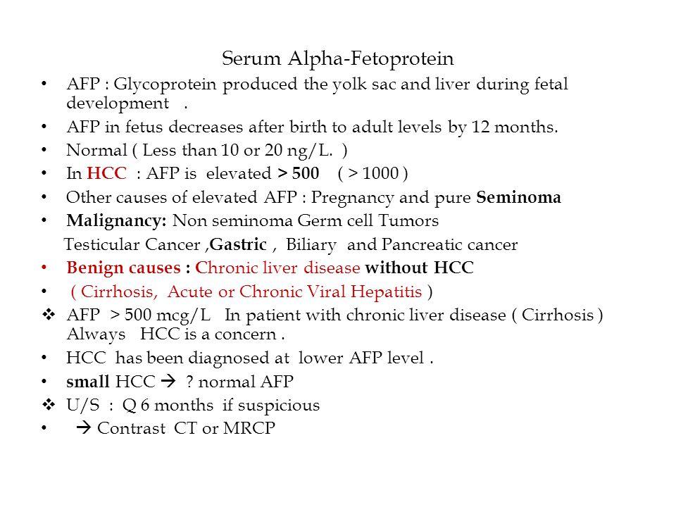Serum Alpha-Fetoprotein